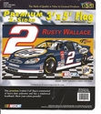 2 Rusty Wallace Double Faced Flag 3x5