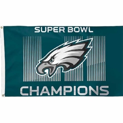 2018 Super Bowl Champions Flag 3x5