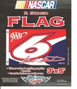 6 Mark Martin Double Faced Flag 3x5