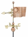 American Flag Copper Weathervane