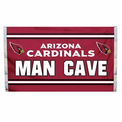 Arizona Cardinals Man Cave Flag 3x5