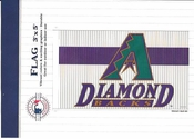 Arizona Diamond Backs 2001 Flag 3x5