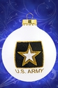 Army Christmas Ornament
