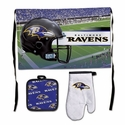 Baltimore Ravens Barbeque Tailgate Set