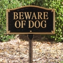 Beware of Dog Statement Marker
