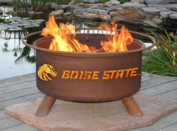 Boise State Outdoor Fire Pit