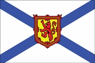 Canadian Nova Scotia Flag 3x5