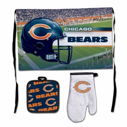 Chicago Bears Barbeque Tailgate Set