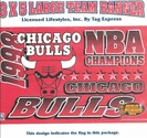 Chicago Bulls 1998 Champs Flag 3x5