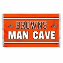 Cleveland Browns Man Cave Flag 3x5