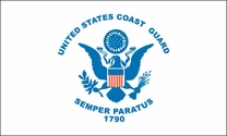 Coast Guard Polyextra Flag 3x5