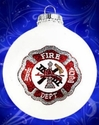 Fireman Christmas Ornament