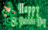 Leprechaun Happy St. Patricks Day Flag 3x5