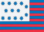 Guilford Courthouse Flag 3x5