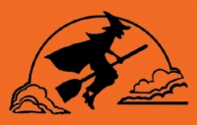 Halloween Witch Flag 3x5