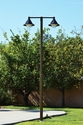 Heritage Light Solar Pole Light (Double with Pole)