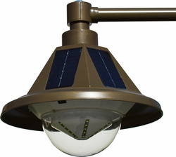Heritage Light Solar Pole Light (Single Light)