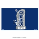 Kansas City Royals 2015 World Series Champs Flag 3�x5�