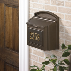 Locking Wall Mailbox