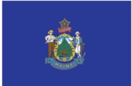 Maine State Flag 2x3
