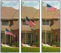 Military Flagpole Set 16 Foot