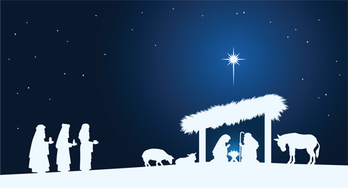 nativity flag 3x5