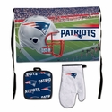 New England Patriots Barbeque Tailgate Set