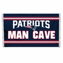 New England Patriots Man Cave Flag 3x5