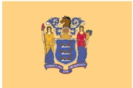 New Jersey State Flag 2x3