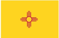 New Mexico State Flag 4x6