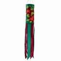 Poinsettia Windsock