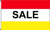 Sale Flag (Red/Yellow)