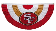 San Francisco 49ers Team Celebration Bunting