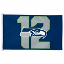 Seattle Seahawks 12th Man Flag 3x5