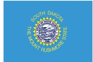 South Dakota State Flag 2x3