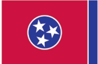 Tennessee State Flag 4x6
