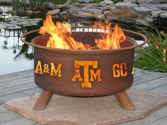Texas A&M Outdoor Fire Pit
