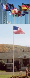 The 25 Foot Heritage Commercial Flagpole