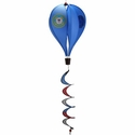 U.S. Coast Guard Hot Air Balloon Military Windsock