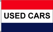 Used Cars Flag