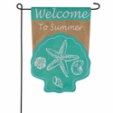 Welcome To Summer Garden Flag