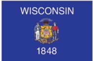Wisconsin State Flag 4x6
