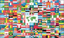 World Flag 3x5