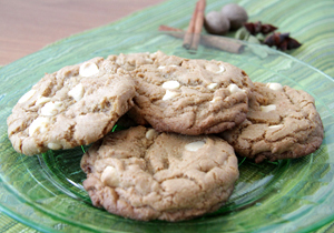 Toucan Mango Chai Cookies <br>with White Chocolate Chips