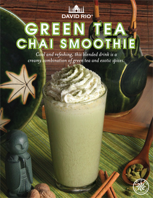Green Tea Chai Smoothie