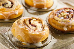 Tiger-Spiced Morning Buns with Apples and Pears