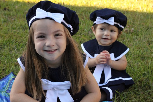 Brother Sister Sailor Outfits Baby Sailor Dress Toddler