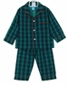 NEW Anavini Green Plaid Monogrammable Pajamas