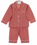 NEW Anavini Red Checked Monogrammable Pajamas