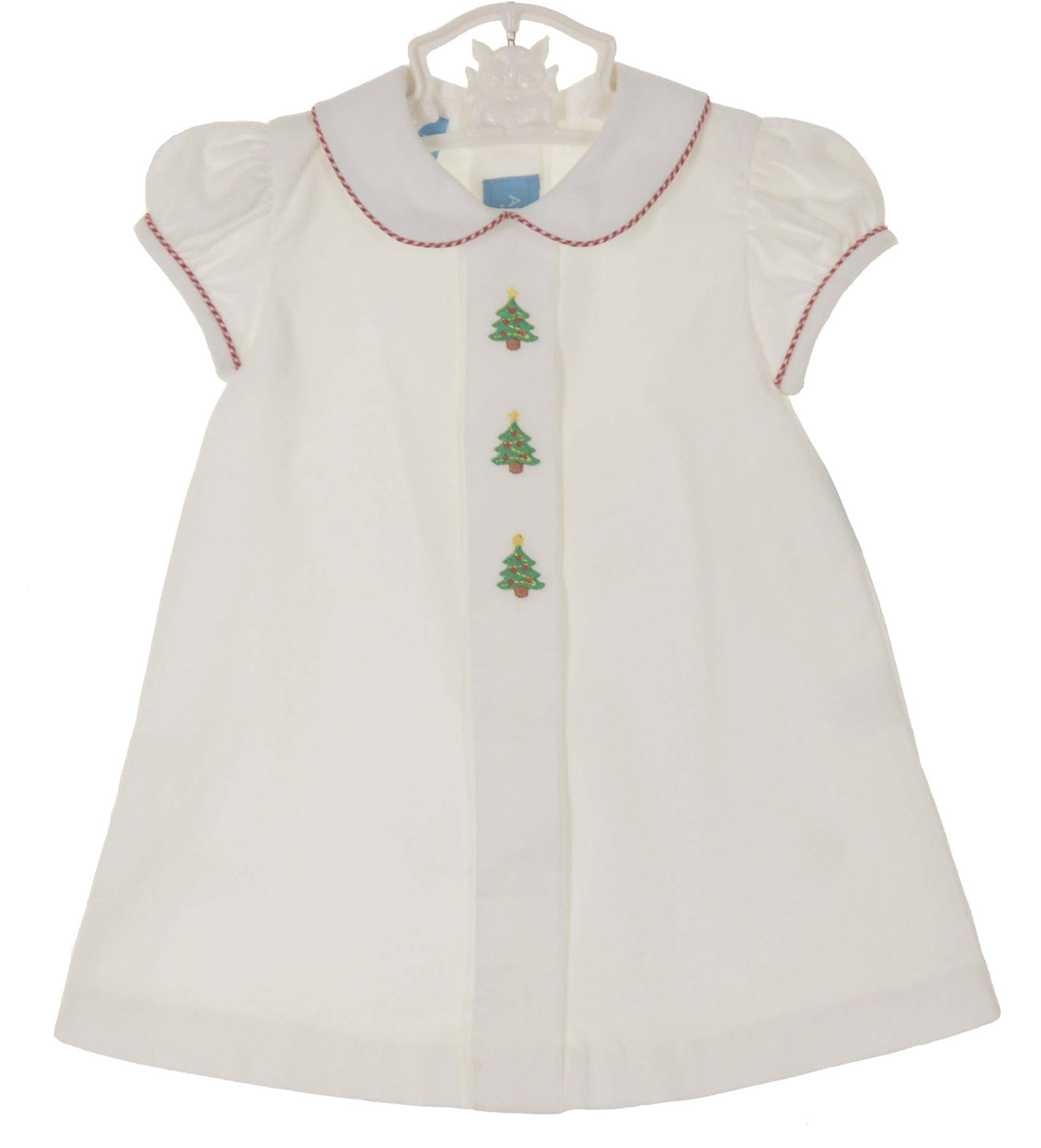 click to enlarge - White Christmas Dress